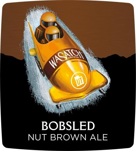 sledding-beer wasatch-bobsled