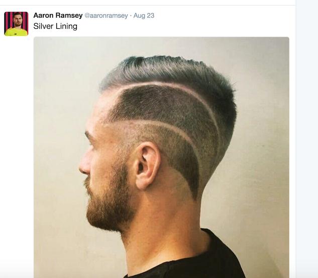 soccerhair aaron-ramsey---aaronramsey----twitter