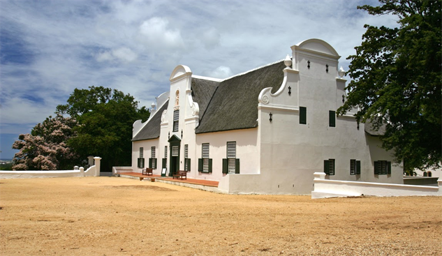 south-africa-wineries groot-constantia-manor-house