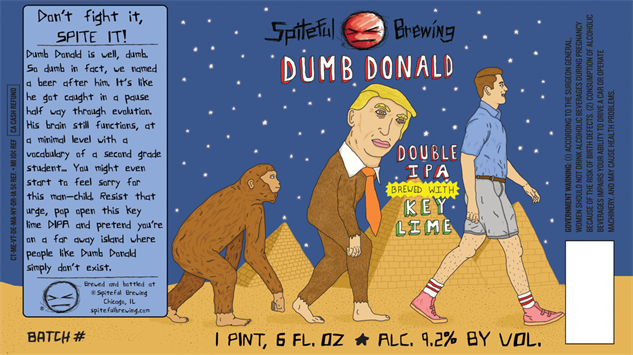 spiteful dumb-donald