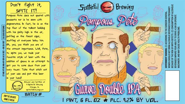 spiteful pompous-pete