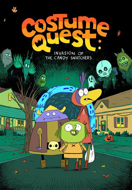 spookykidscomics costumequest