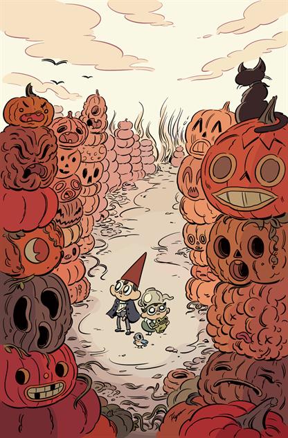 spookykidscomics overthegardenwall