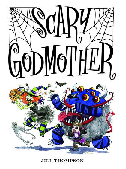 spookykidscomics scarygodmother