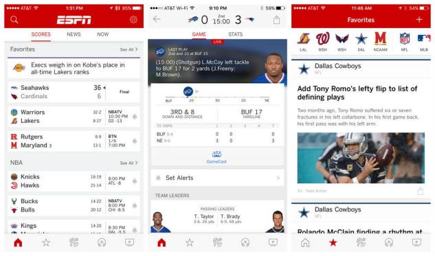 10 Free Sports Apps for iOS to Get You in the Game :: Tech :: Ios