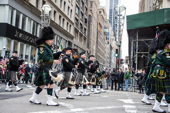 st-pats st-pats-parade-nyc-band
