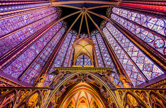 stained-glass sainte-chapelle-paris
