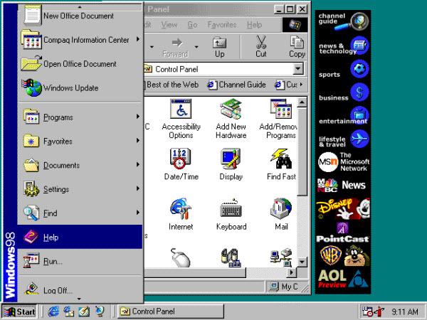 The History of the Windows Start Menu :: Tech :: Paste