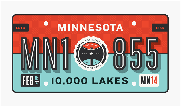 No Hate For Great <em>State Plates</em> Slate
