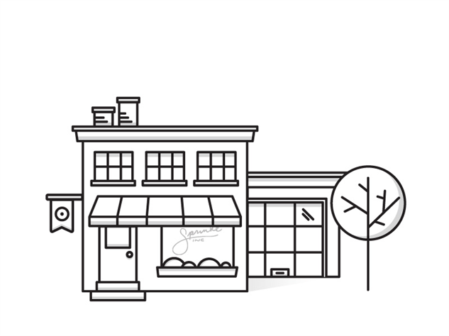 Open for Business: 25 of the Best Storefront Illustrations