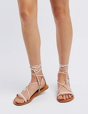 Walk into Summer with These Strappy Flat Sandals    Style    Paste