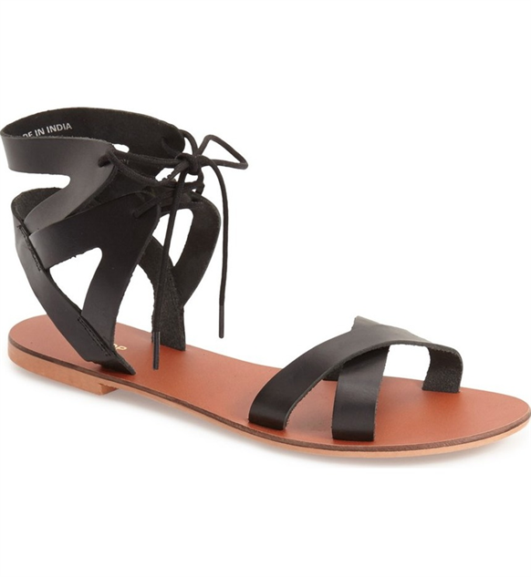 b4bee2f25d8 Walk into Summer with These Strappy Flat Sandals    Style    Paste