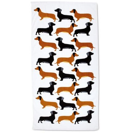stylish-beach-towels dog