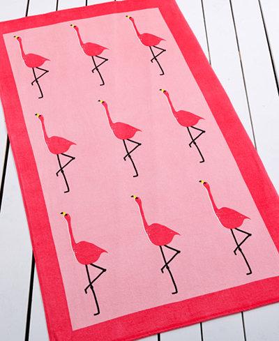stylish-beach-towels flamingo