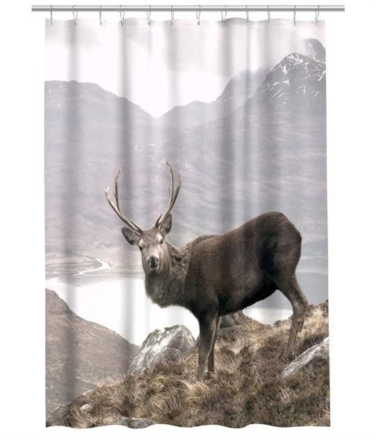 Stylish Shower Curtains Deer HM
