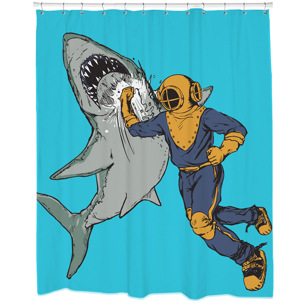 Stylish Shower Curtains Punch
