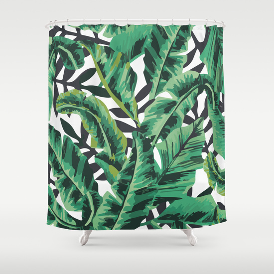 Stylish Shower Curtains Tropical