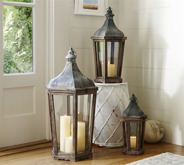 Brighten up your outdoor space with these summer lanterns for Decorating outdoor lanterns