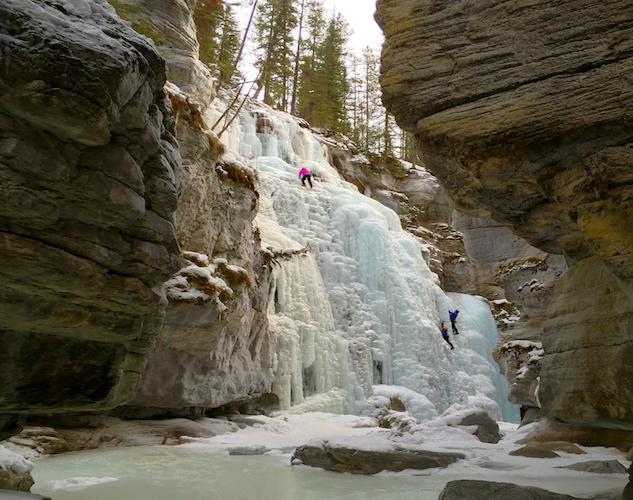 takefivejasper waterfalls