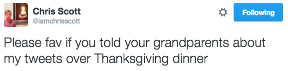 thanksgiving-tweets iamchrisscott