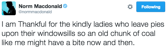 thanksgiving-tweets normmacdonald