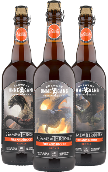 thrones-beer fire-and-blood