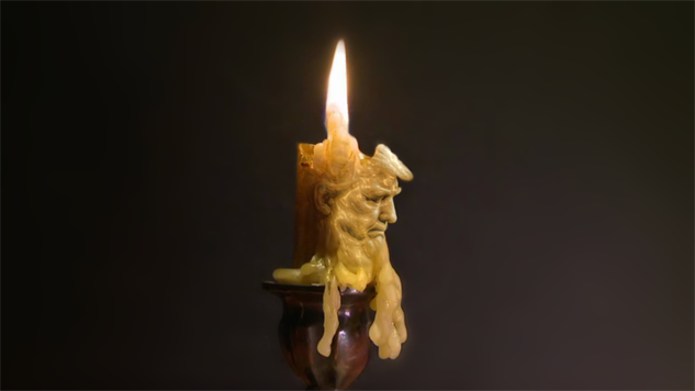 trump-chin-battle candle