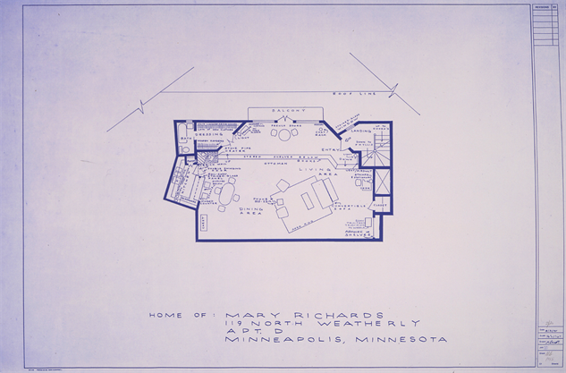 tv-homes-blueprint bennett-maryrichards-mary-tyler-moore