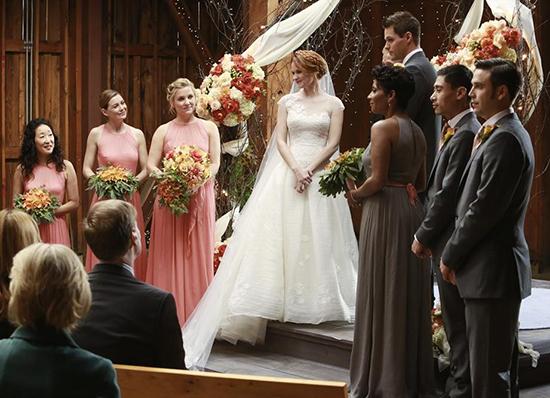 20 unforgettable tv wedding dresses tv galleries for Bridesmaid dresses for april wedding