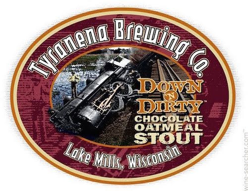 valentines-beer tyranena-brewing-co-down-n-dirty-chocolate-oatmeal-stout-bee