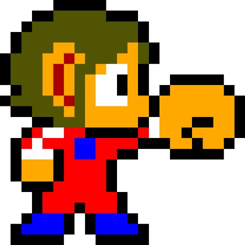 videogame-mascots alex-kidd-mascots