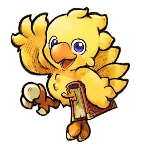 videogame-mascots chocobo-mascots