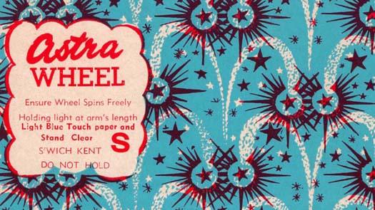 July 4th Firework Label