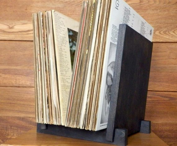vinyl-record-storage display