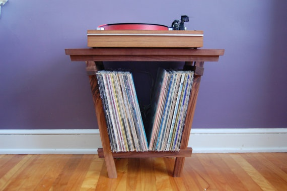 ... Vinyl Record Storage Solid