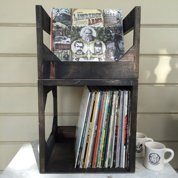 vinyl-record-storage wicker