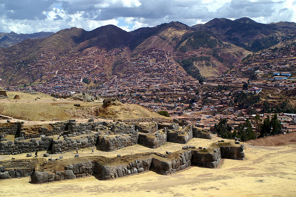 walls sacsayhuaman-peru