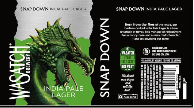 wasatch-beer snap-down-lager