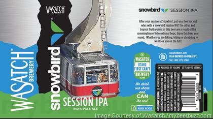 wasatch-beer snowbird-session