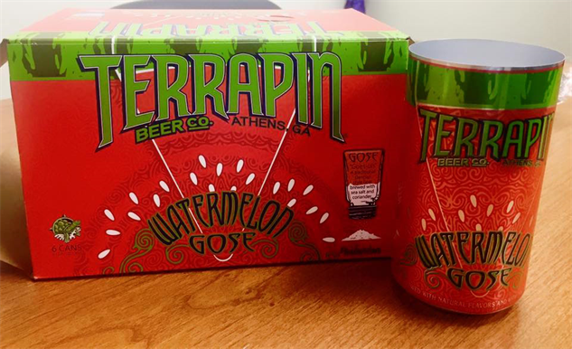 watermelon-beer terrapin-watermelon