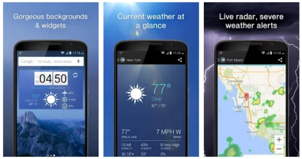 10 Wonderful Weather Apps for Android :: Tech :: Android