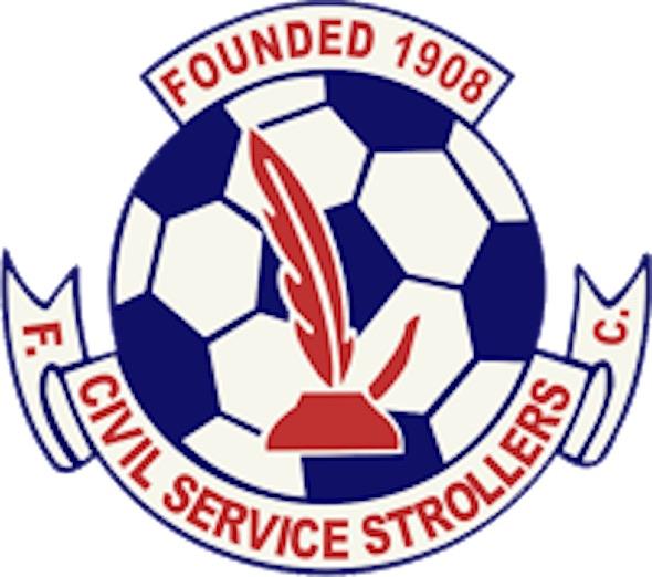 weird-football-names civil-service-strollers-fc-logo