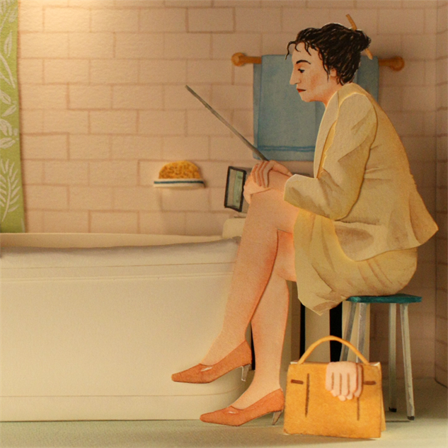 wes-anderson-paper-dioramas mar-i-tied-to-the-radiator-3
