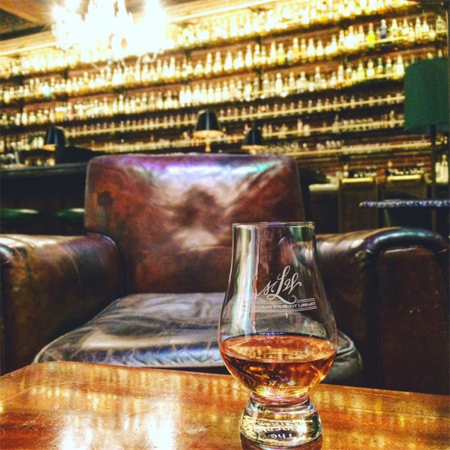 whiskey-library dram