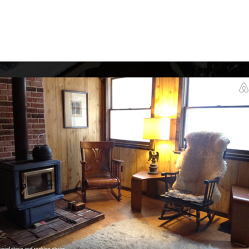 winter-airbnb cabin-2-gouldsboro-pa