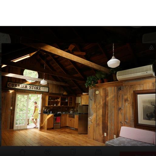 winter-airbnb cabin-21-milanville-pa