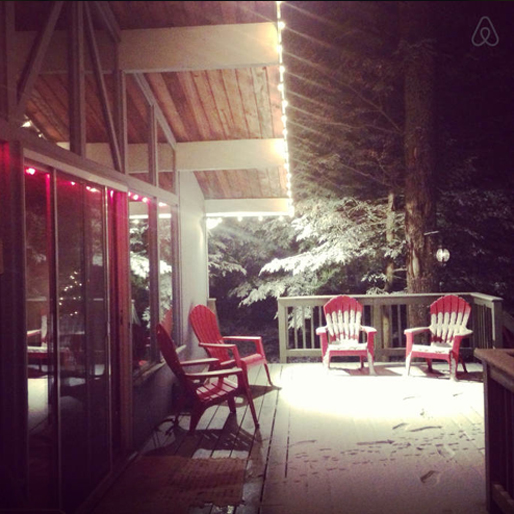 winter-airbnb cabin-23-east-stroudsburg-pa
