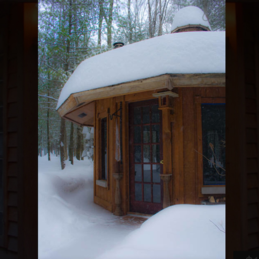 winter-airbnb cabin-24-greeley-pa