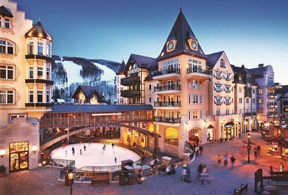 winter-lodges arrabelle-at-vail-square