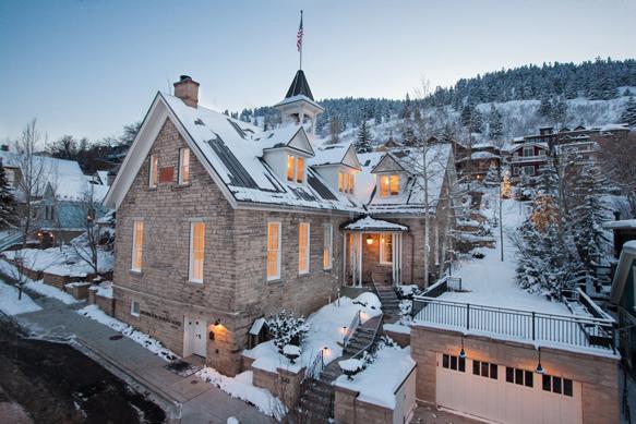 winter-lodges washington-school-house-hotel-utah